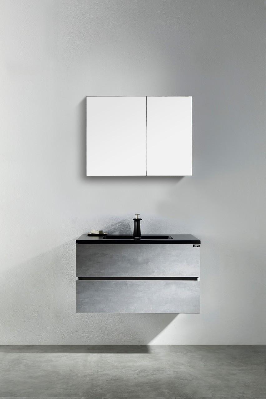 Edison 24 Wall Mount Bathroom Vanity