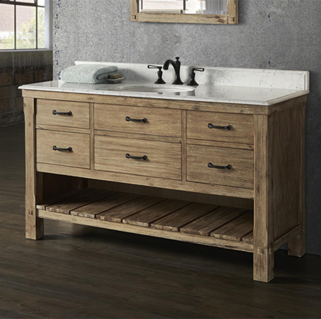 Napa 60 Bathroom Vanity