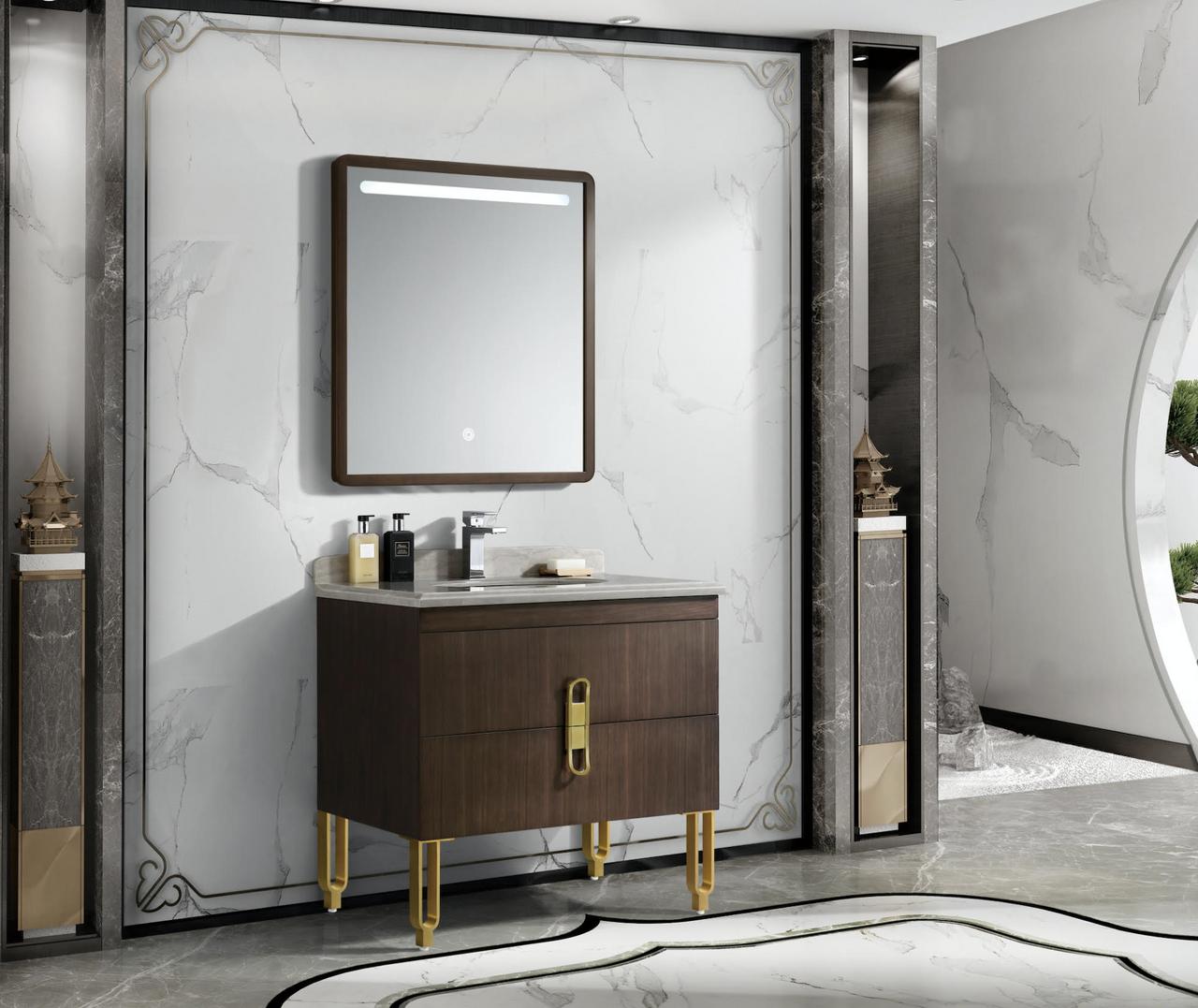 Reynolds 30 Inch Handmade Bathroom Vanity Italian Designer Collection Royal Bath Place