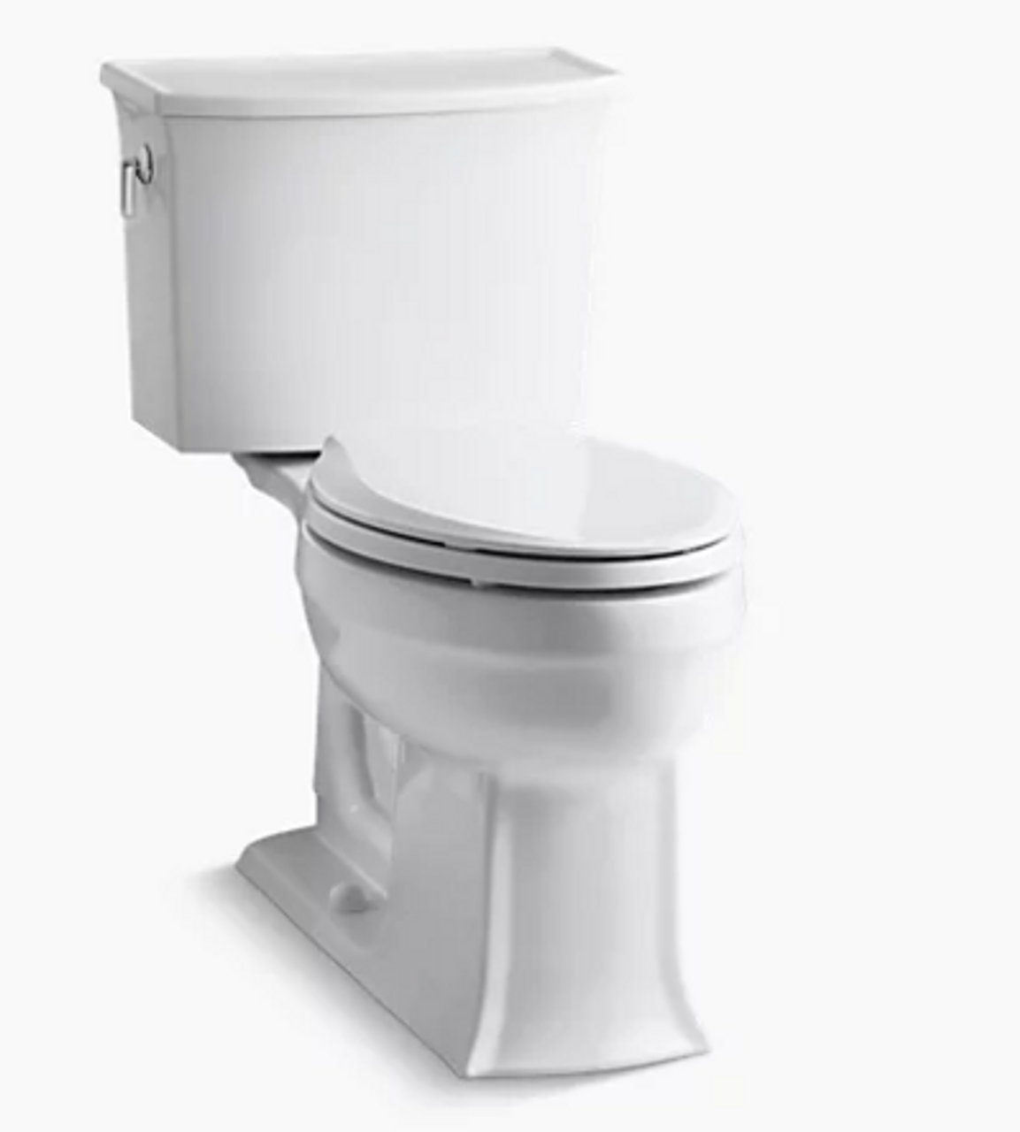 Kohler Archer Comfort Height In White Royal Bath Place