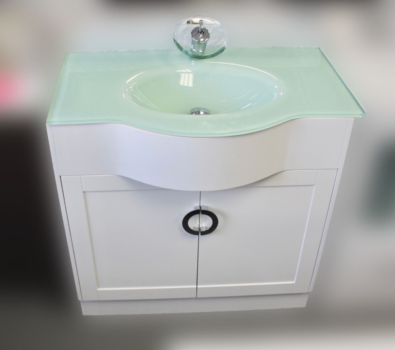Sarasota 30 Inch Bathroom Vanity In White Royal Bath Place