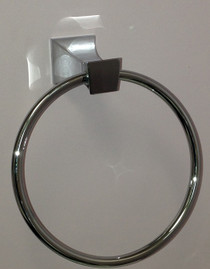 Evita Towel Ring Chrome