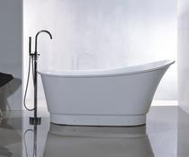 Royal York  59 inch Freestanding Bathtub White