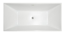 "Fiona  59"" Freestanding Bath Tub"