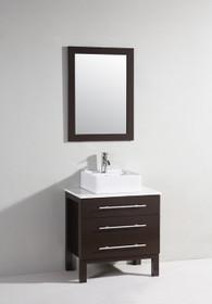 """Carnival 28"""" Bathroom Vanity Espresso"""