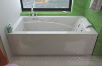 "MAAX Optik (End Drain) Skirted Alcove Soaker Tub 66"" x 36"" x 22"""