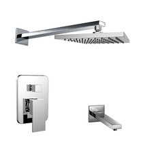 Royal Luxor Twin Shower System Chrome