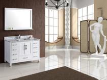 Royal Palmera Collection 48 inch White Bathroom Vanity