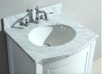 "Destiny  24"" White Bathroom Vanity"