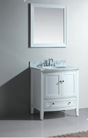 Royal Destiny 30 inch White Bathroom Vanity