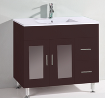 "Jane  36"" Navy Bathroom Vanity"
