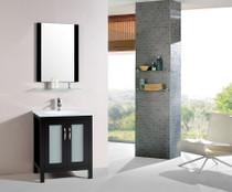 """Wasaga 28"""" Espresso Bathroom Vanity"""