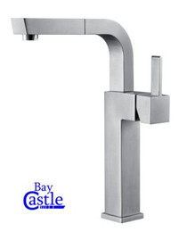 Castle Bay Chillax Kitchen Pullout Faucet Stainless Steel