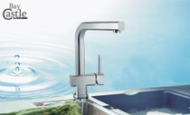 Castle Bay Hudson Pull Out Kitchen Faucet Stainless Steel