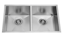 Castle Bay Legendary 50/50 Undermount Sink