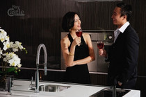Castle Bay Phoenix Pull Out Faucet Stainless Steel