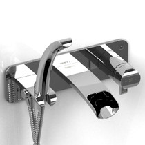 Riobel Salome Wall mount tub faucet coaxial thermostatic pressure balance
