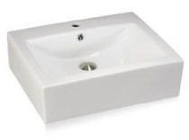 "Nina Square OverMount Sink 18"" x 18"""