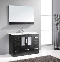 "Pompano 48"" Espresso Bathroom Vanity"