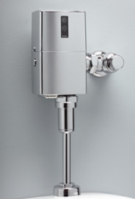 Toto EcoPower® High Efficiency Urinal Flushometer Valve, 1.0 Gpf, Exposed -