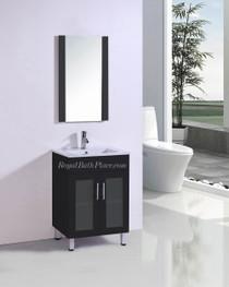 "Jane 24"" Bathroom Vanity in Espresso"