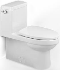 """Villeroy & Boch Architectura 1 pc Toilet 12"""" Rough In Comfort Height"""