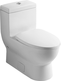 """Villeroy & Boch Subway 1 pc Toilet 12"""" Rough In Comfort Height"""