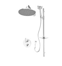 Rubi Dana/Billie Bathroom Thermostatic Shower System Brushed Nickle