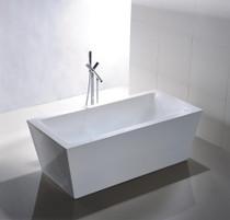 """Malta 67"""" Free Standing Bath Tub"""