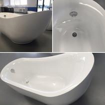 "Figo 67"" Freestanding Bath Tub"