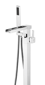 Royal Costa Waterfall Freestanding Tub Faucet Chrome