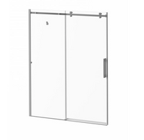 "ROLLAX SQUARE 60""X77"" Alcove sliding shower door 2 panels clear glass"