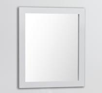 """Royal Matching  Mirror 28"""" White"""