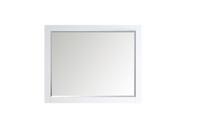 """Royal Matching  Mirror 30"""" White"""