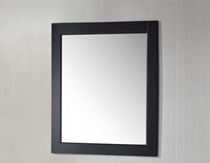 "Royal Wooden Framed Mirror 24"" Espresso"