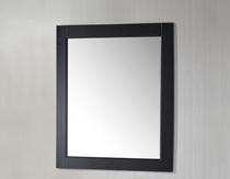 "Royal Wooden Framed Mirror 30"" Espresso"