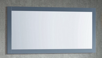 """Key Largo Wooden Framed 60"""" Gray Mirror"""