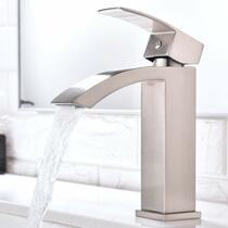 Royal Fall Single Handle Lav Faucet Brushed  Nickel