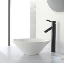 Santiago Oil Rubbed Bronze 1-Handle Single Hole Bathroom Faucet