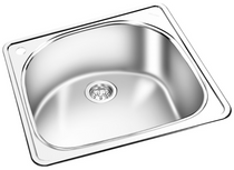 GEMINI Single Bowl Top Mount Kitchen Sink RNT 803