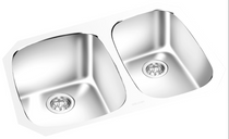 GEMINI -Under Mount Double Bowl Kitchen Sink KM 1612