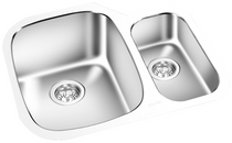 GEMINI -Under Mount Double Bowl Kitchen Sink KM 1614