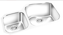 GEMINI -Under Mount Double Bowl Kitchen Sink KM 609R