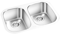 GEMINI -Under Mount Double Bowl Kitchen Sink KM 7272