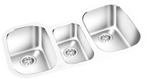 GEMINI -Under Mount Double Bowl Kitchen Sink KM 721472