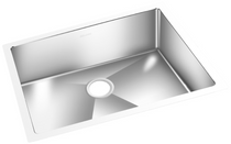 GEMINI Single Bowl Square Kitchen Sink BRRC 1812