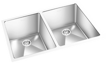 GEMINI Double Bowl - Square Sink CRC 1612
