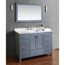 """Key West 48"""" Gray Bathroom Vanity"""