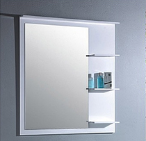 "Royal Cielo Wall Mirror 36"" White"