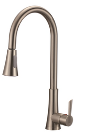 Pia Kitchen Faucet Brushed Nickel